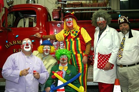 The Shriners Clowns at the station (2011)