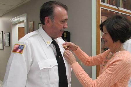 Deputy Chief Jeffrey T. Muto & his wife Elaine (2014)