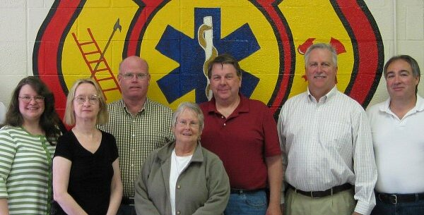 2009 District Board - Chief, Kim, Sandy, Ray, Ann, George, Milton, Jim & Attorney Mason