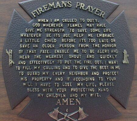 Fireman's Prayer