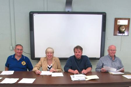 Harmony Fire District Board Members Jim Richards, Louise Michaels, George Kain & Ray Fogarty June 17, 2014