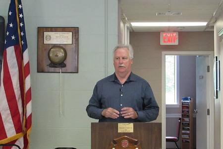 District Moderator Milton Huston June 6, 2015